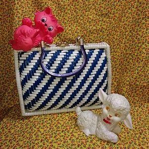 Handbags - Vintage Woven Purse